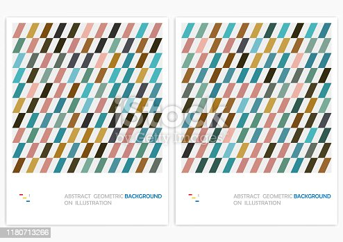 abstract minimalistic geometrical stripe design vector pattern background