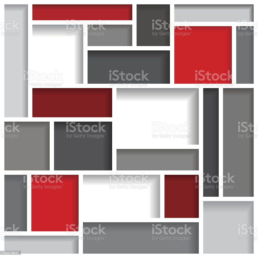 Abstract modern background template vector art illustration