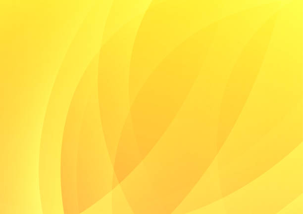 추상적인 우아한 배경 - 노랑 stock illustrations