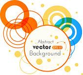 Abstract modern banner. Vector Illustration