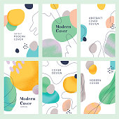 istock Abstract modern cover templates 1187354646