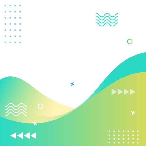 abstract modern geometric sale banner template for web social media promotion editable vector design - social media stock illustrations