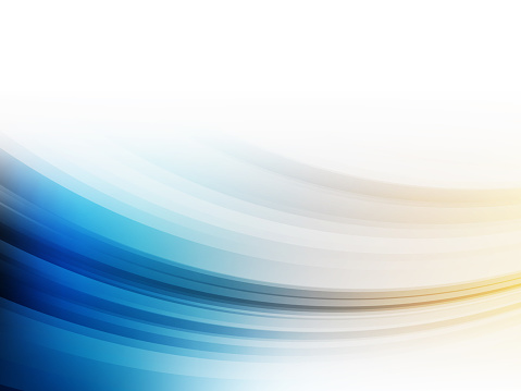 Abstract modern gradient blue and yellow background. Wallpaper - Vector illustration.