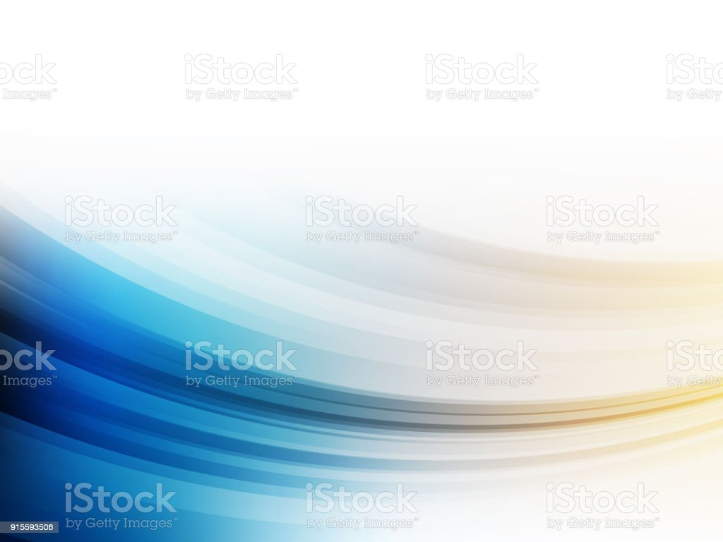 Abstract modern gradient blue and yellow background. Wallpaper - Vector illustration. vector art illustration