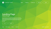 Modern abstract graphic elements. Abstract gradient banners with triangle shapes and polygon mosaic. Templates for landing page designs or website backgrounds. This design is a minimalist look and is very simple.