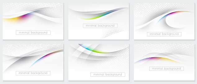 abstract modern light background for design of business card, flyer, poster, banner, web