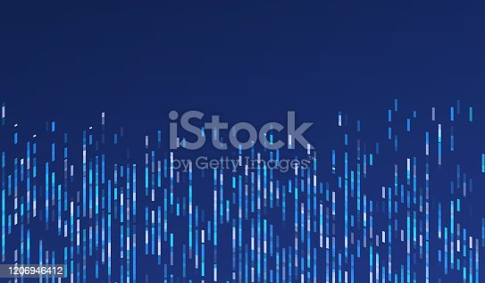 istock Abstract Modern Research and Data Background 1206946412