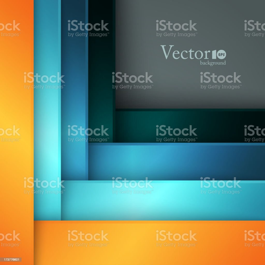 Abstract modern template royalty-free stock vector art