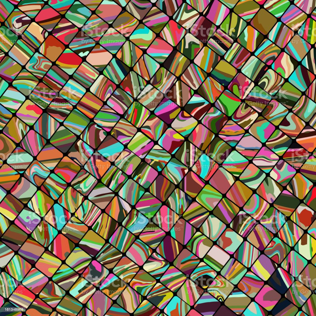 Abstract mosaic background. EPS 8 royalty-free stock vector art