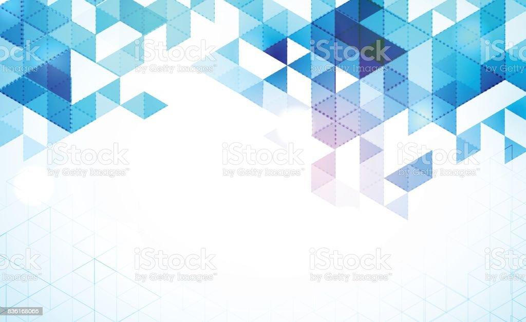 abstract mosaic background vector art illustration
