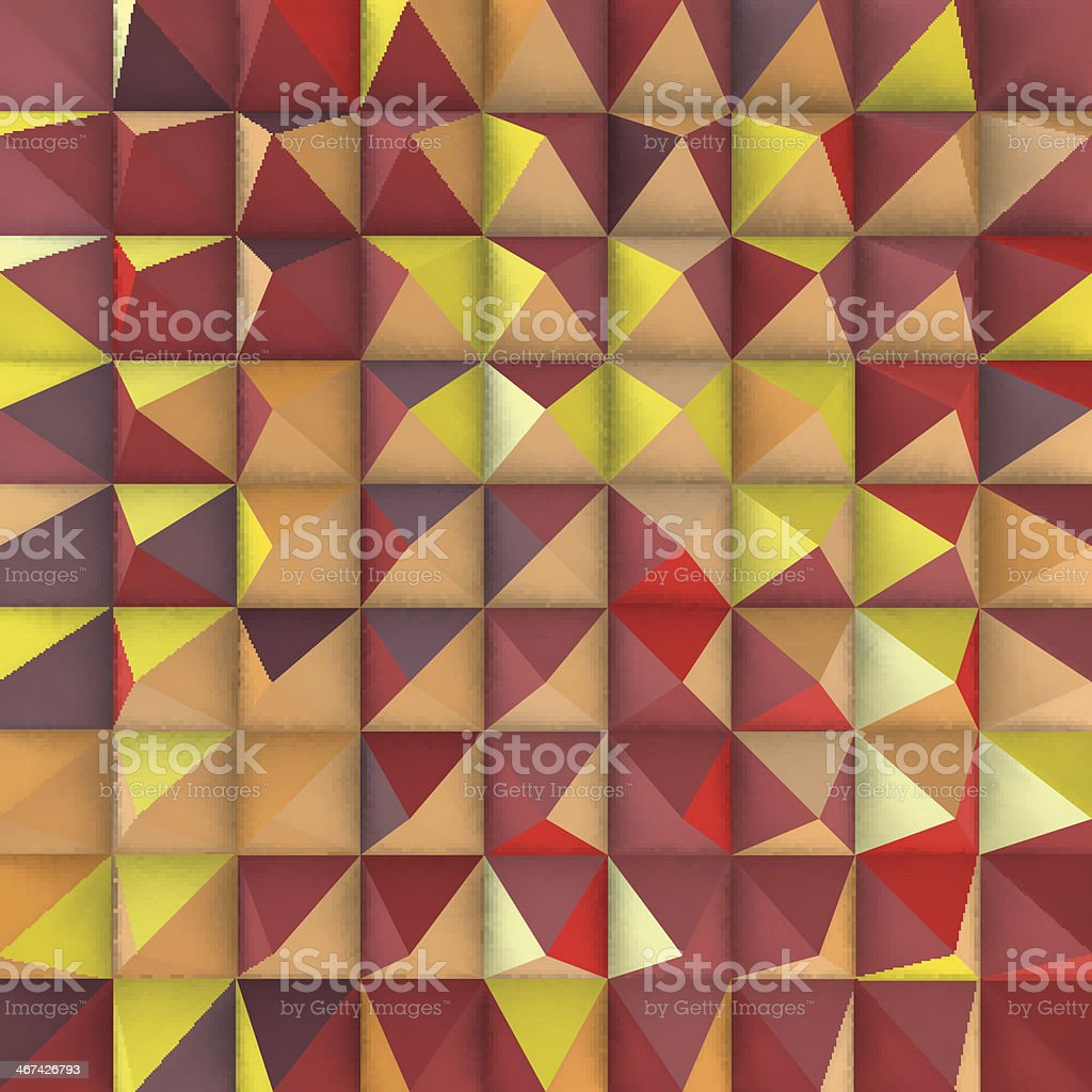 Abstract mosaic background. Vector illustration. royalty-free stock vector art