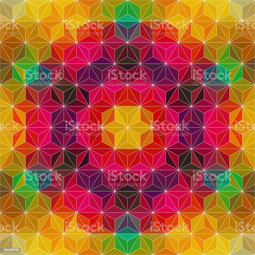 Abstract Mosaic Pattern abstract mosaic pattern - stockowe grafiki wektorowe i więcej obrazów abstrakcja royalty-free