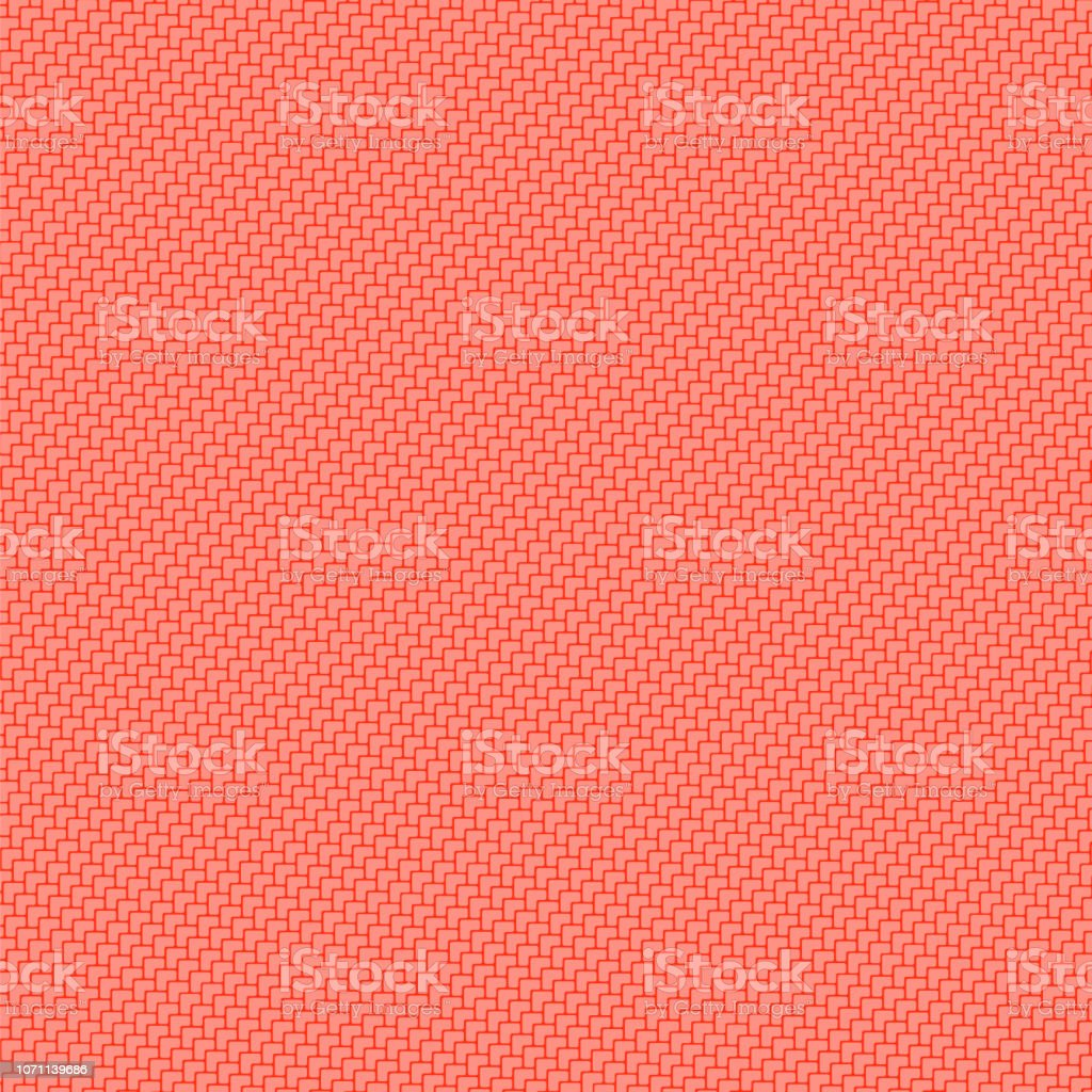 Abstract Mosaic Red Background Diagonal Pattern Floor Tiles