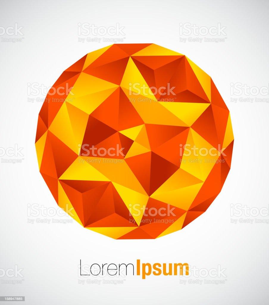 Abstract mosaics background royalty-free stock vector art