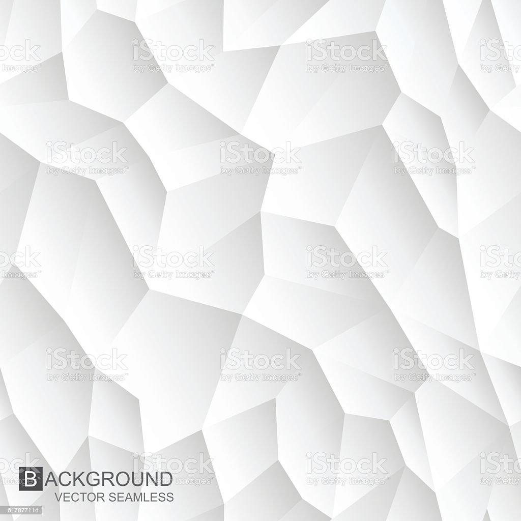 Abstract Mosiac Seamless Texture White Geometric