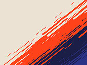 Abstract angled movement dash background with space for copy.