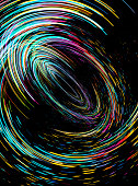 Abstract moving lines, futuristic and dynamic concept digital background, colorful image illustration.