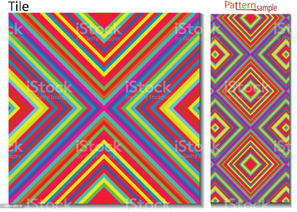 Beautiful abstract multi colored seamless pattern ,multi-colored...
