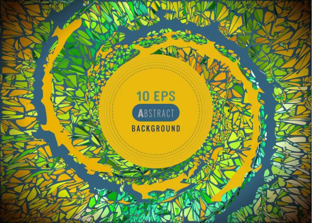 stockillustraties, clipart, cartoons en iconen met abstracte multicolor vortex spiraal veiligheidsmaterialen bg - bloemen storm