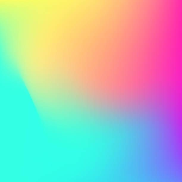 Abstracto fondo de vector de malla de gradiente brillante multicolor - ilustración de arte vectorial