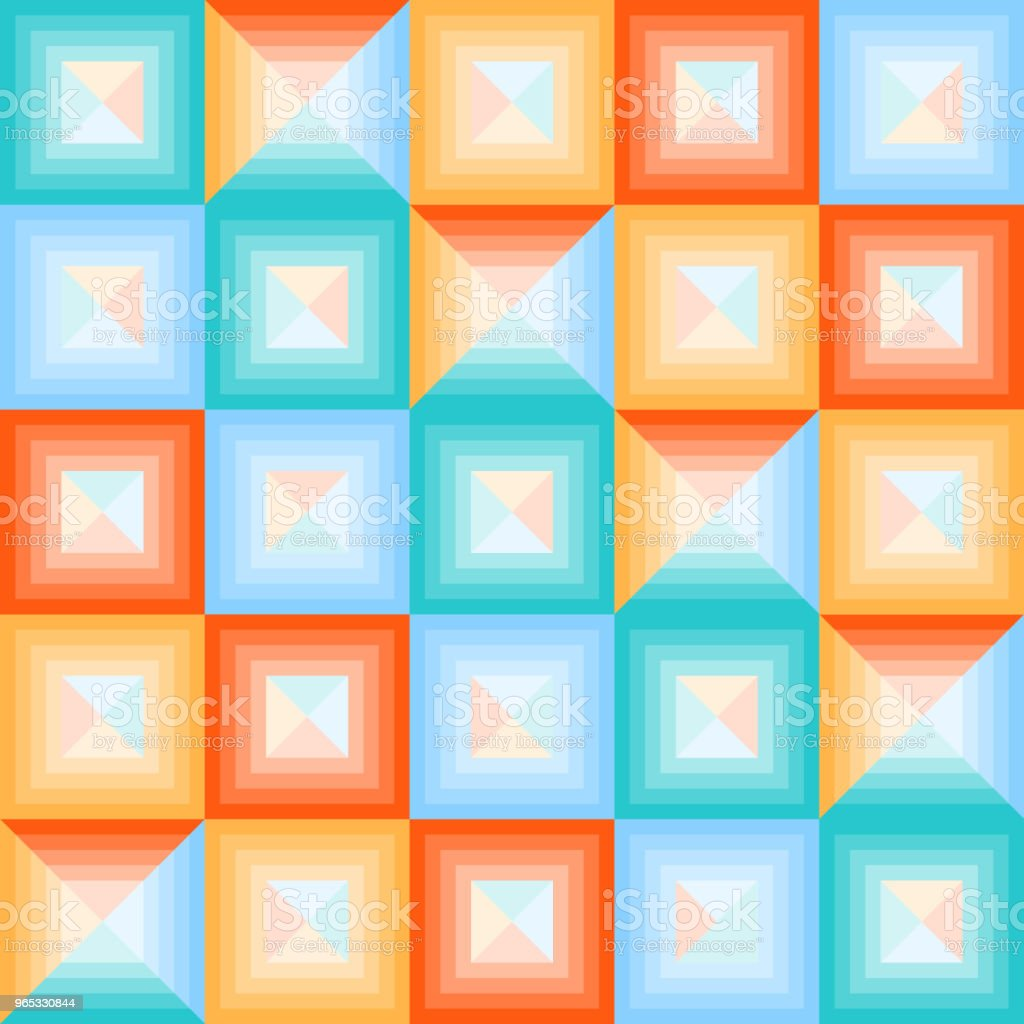 Abstract multicolored squares. Banner of abstract multicolored squares. royalty-free abstract multicolored squares banner of abstract multicolored squares stock vector art & more images of no people