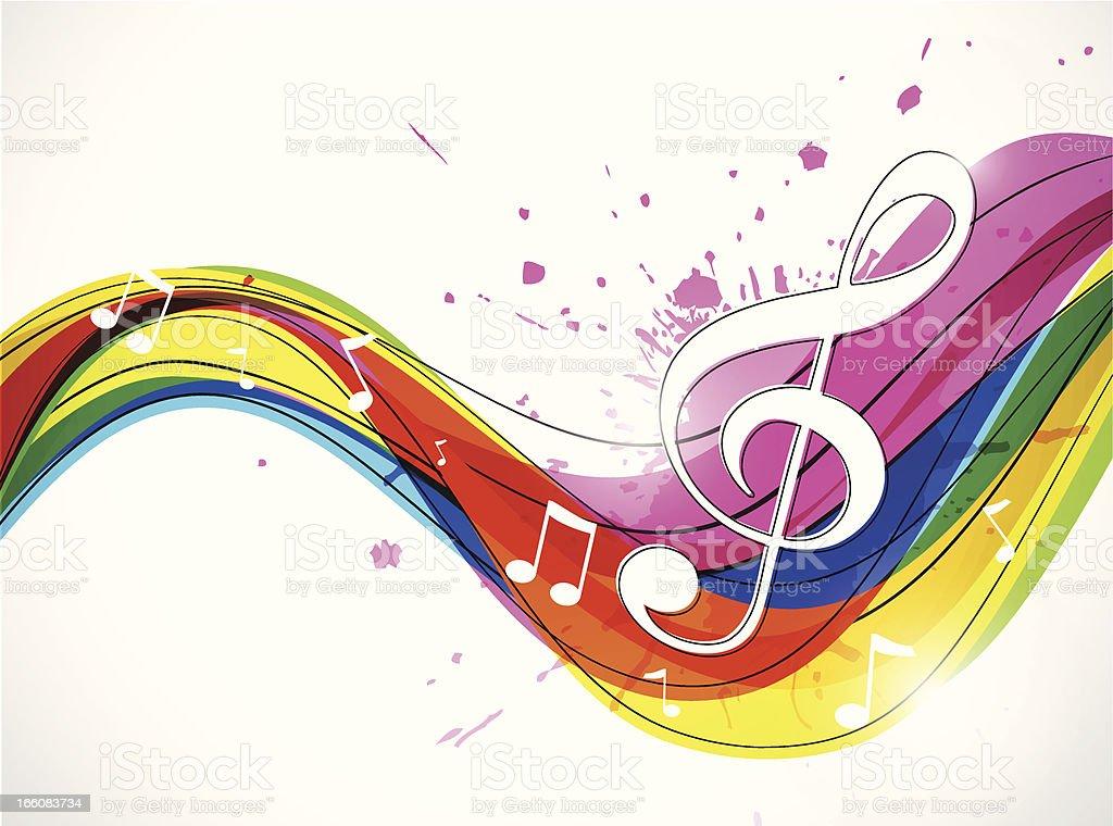 Exceptionnel Abstrait Fond De Musique Stock Vecteur Libres de Droits 166083734  FM73
