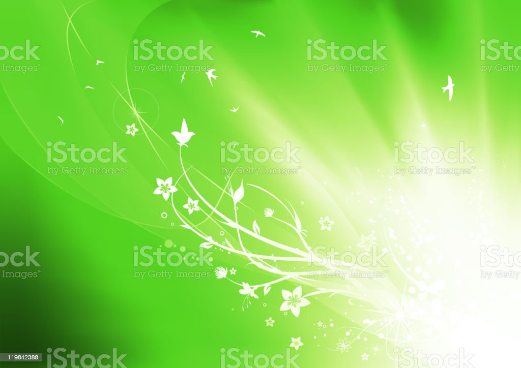 abstract nature background royalty-free stock vector art