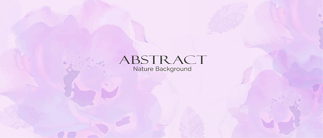 Abstract nature background vector.