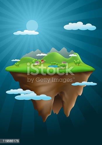 istock Abstract nature scene. 119585175
