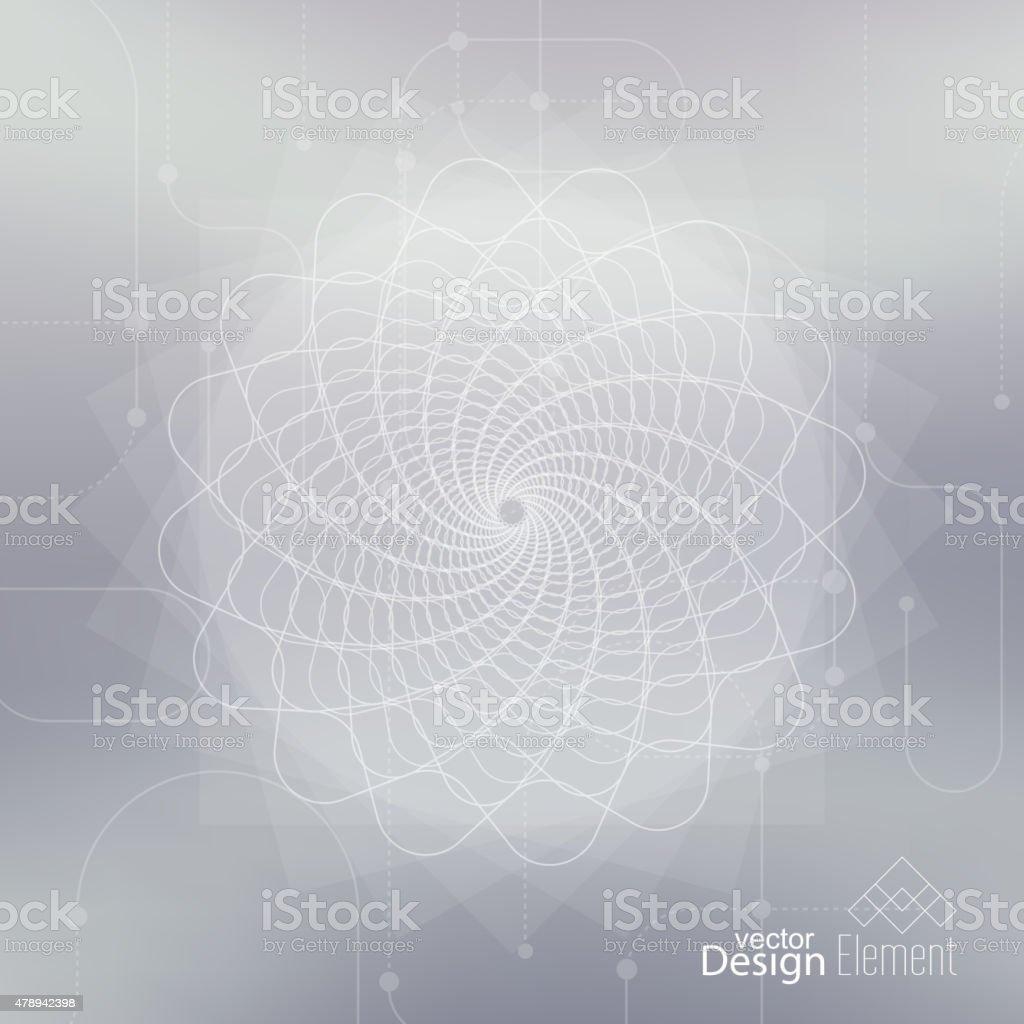 Elegante fundo desfocado abstrato - ilustração de arte em vetor