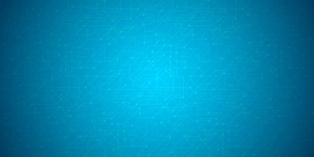 Abstrakter Netzwerkhintergrund. Blockchain.Neural Netzwerk. – Vektorgrafik