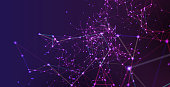 istock Abstract Network Background 1148029345