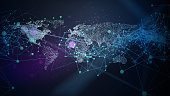 istock Abstract Network Background 1152700943