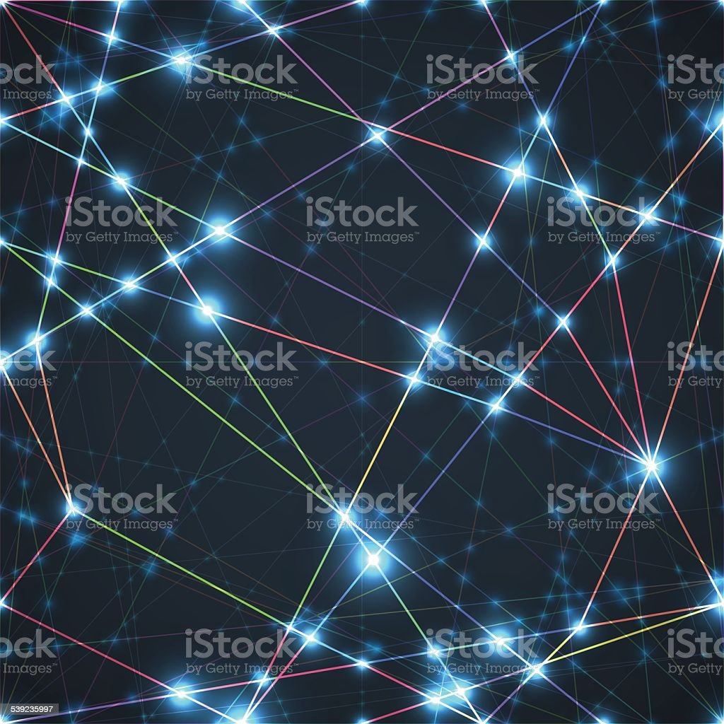 Abstract Network Background royalty-free abstract network background stock vector art & more images of abstract