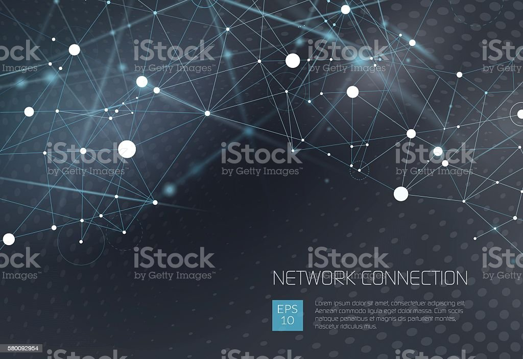 Abstract Network Background