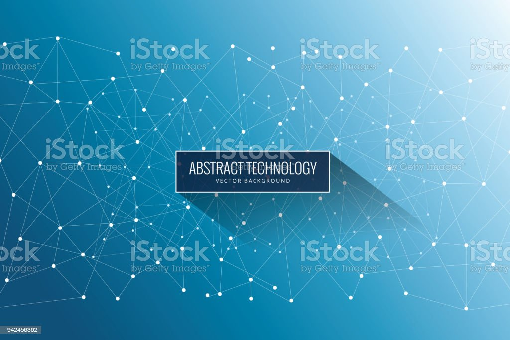 Abstract Network Background royalty-free abstract network background stock illustration - download image now