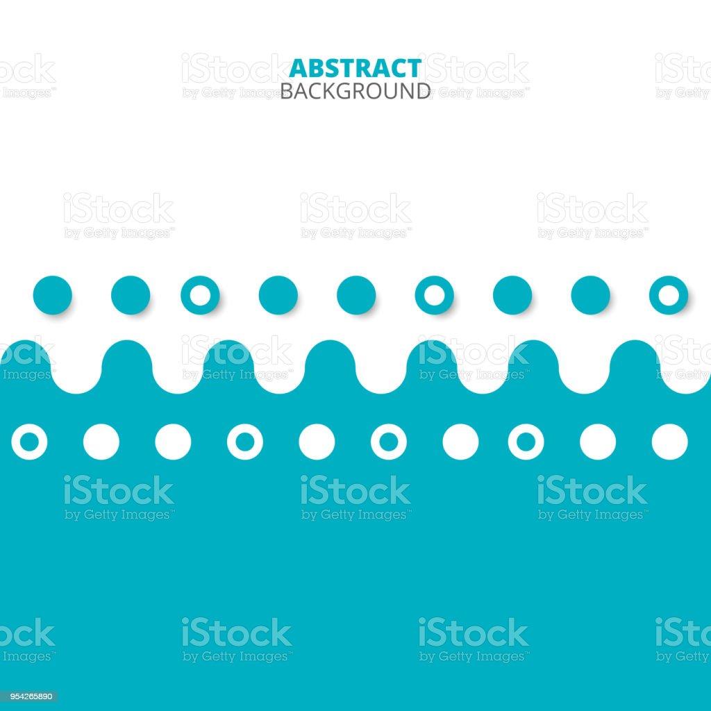 Zusammenfassung Der Blauweißen Muster Hintergrund Stock Vektor Art