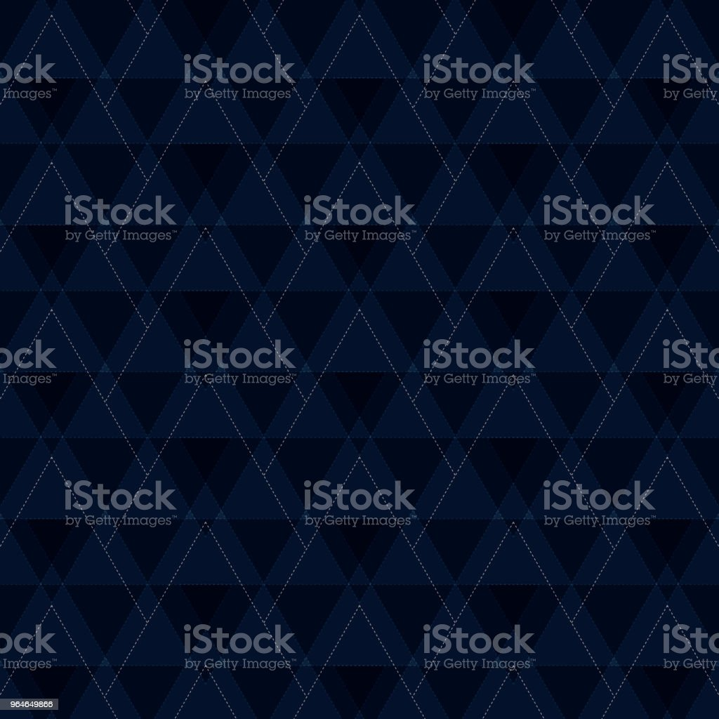 Abstract of blue triangles shapes pattern background. royalty-free abstract of blue triangles shapes pattern background stock vector art & more images of abstract
