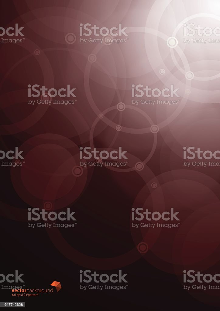 Abstract of Circles background vector art illustration
