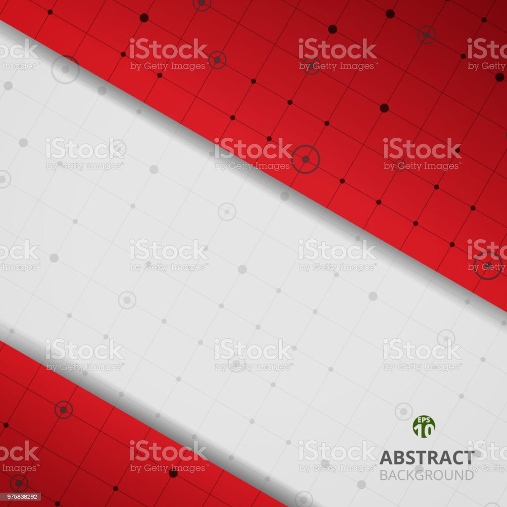Zusammenfassung des modernen digitalen Grafik in rotem Farbverlauf Hintergrund. Sie können digitale geschäftlich nutzen. - Lizenzfrei Abstrakt Vektorgrafik