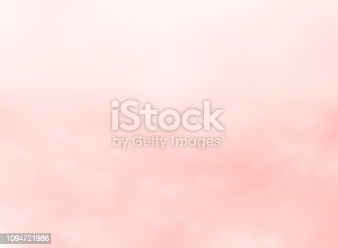 Abstract of pink living coral color sky background, vector eps10