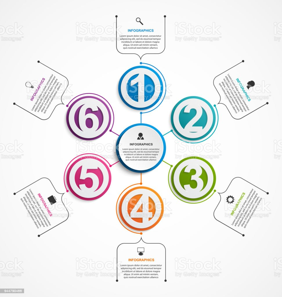 Plantilla De Infografía Resumen Opciones Puede Ser Utilizado Para ...