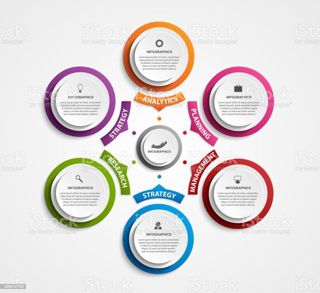 Abstrato de opções de infográficos modelo. ilustração de abstrato de opções de infográficos modelo e mais banco de imagens de abstrato royalty-free