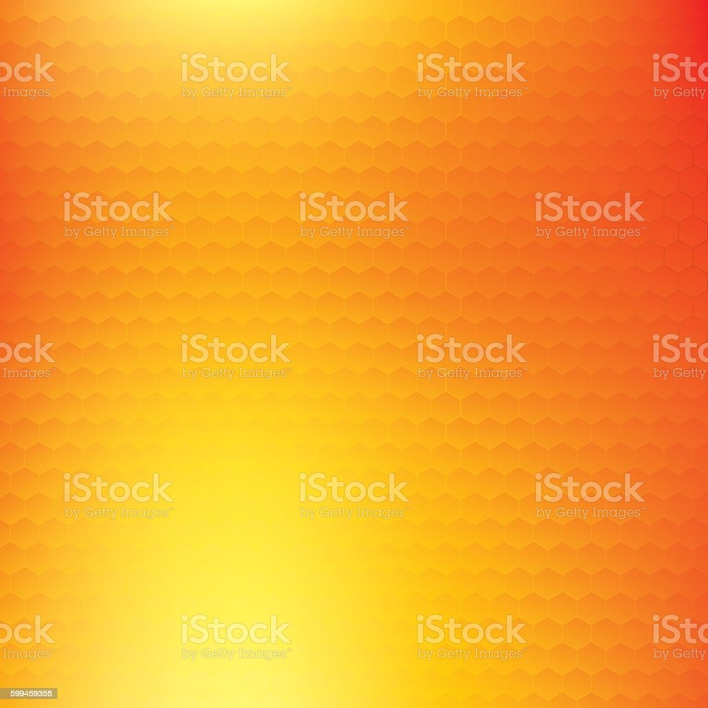 Abstract Orange And Yellow Vector Background Color Mesh