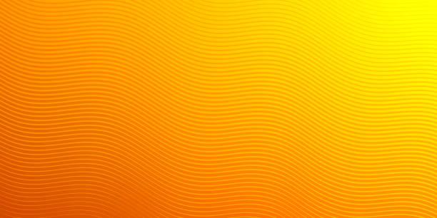 Abstract orange background - Geometric texture vector art illustration