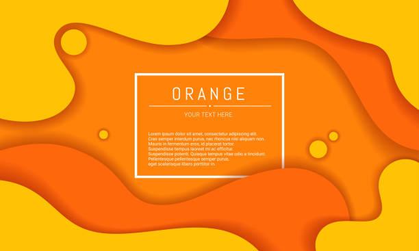 bildbanksillustrationer, clip art samt tecknat material och ikoner med abstrakt orange bakgrund - orange bakgrund