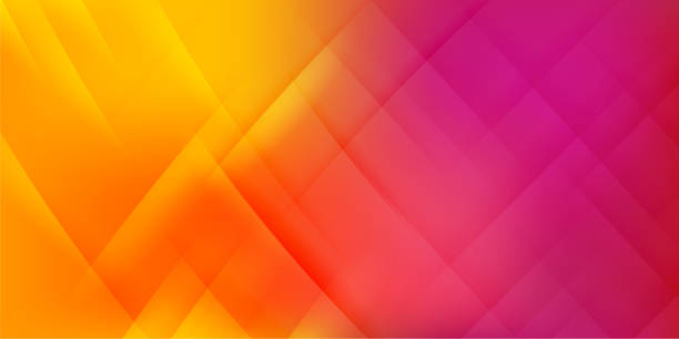 ilustrações de stock, clip art, desenhos animados e ícones de abstract orange background - vr red background