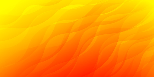Yellow orange red shapes abstract vector background illustration