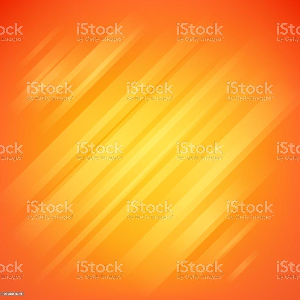 Abstract orange glow vector background vector art illustration