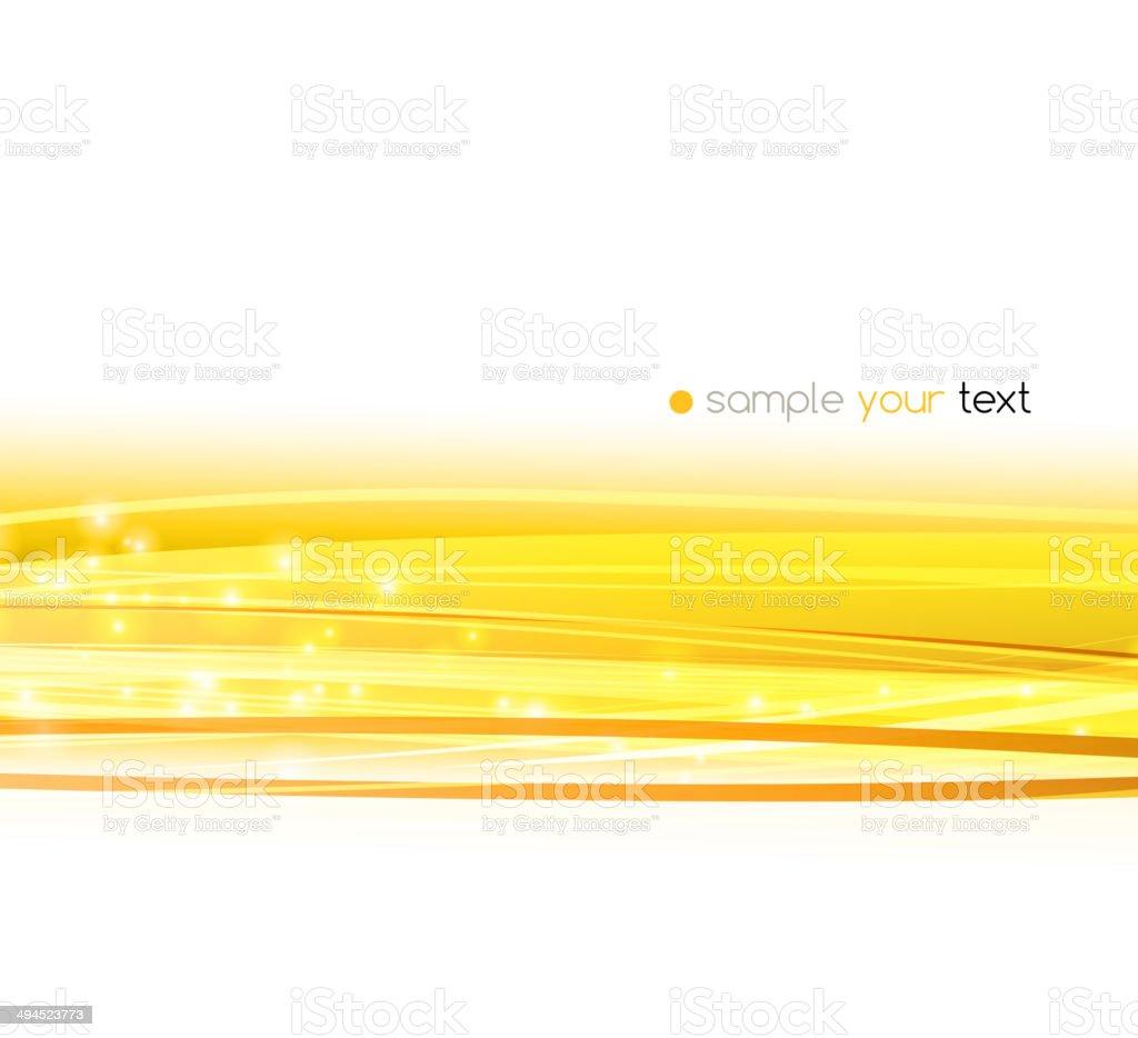 Abstract Orange Linien Vektor Hintergrund Stock Vektor Art